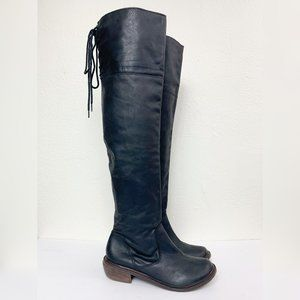 MIA Limited Edition Lieutenant Over The Knee Boots